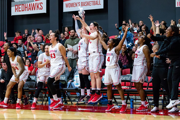 2017 Seattle U Women's Basketball vs Utah Valley