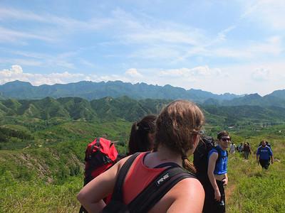 wangjinglou great wall camping 2days