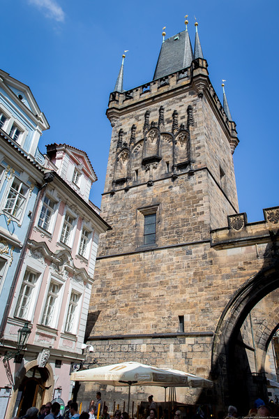 West Tower of the Charles Bridge