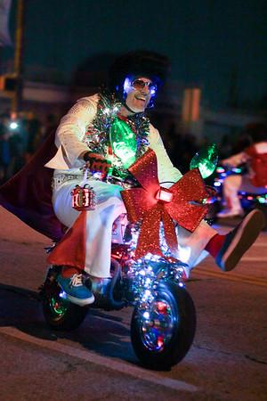 Wheeling Elvi - Arlington Parade of Lights