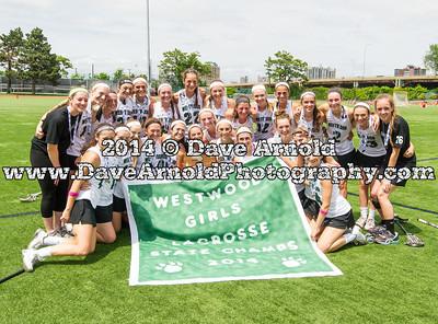 6/14/2014 - Girls Varsity Lacrosse - MIAA D1 State FInal - Longmeadow vs Westwood