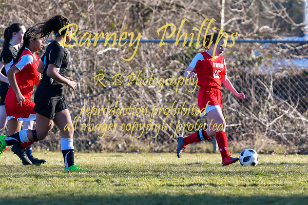 T Birds vs Storm Girls Soccer.....by Barney