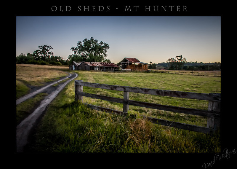 Old Sheds - Mt Hunter