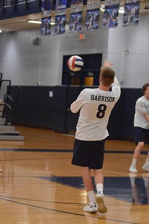 OE Varsity boys volleyball Vs Plainfield Central 2018