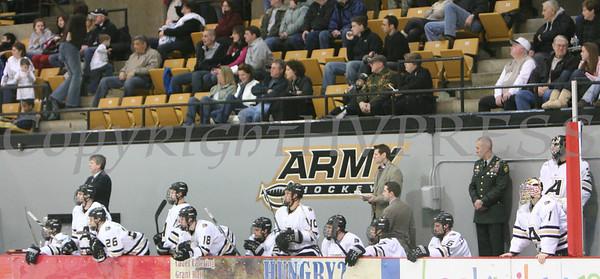 Army vs Bentley Hockey