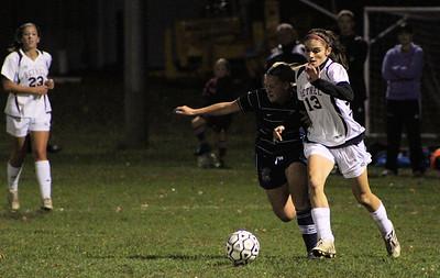 Varsity Girls Soccer vs Immaculate - 10/17/2011