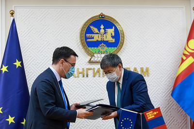 Европын холбоо Монгол улсад 50.8 сая еврогийн буцалтгүй тусламж өгөх хэлэлцээрийг баталлаа