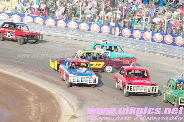 Historic Stock Cars, Ipswich Spedeweekend