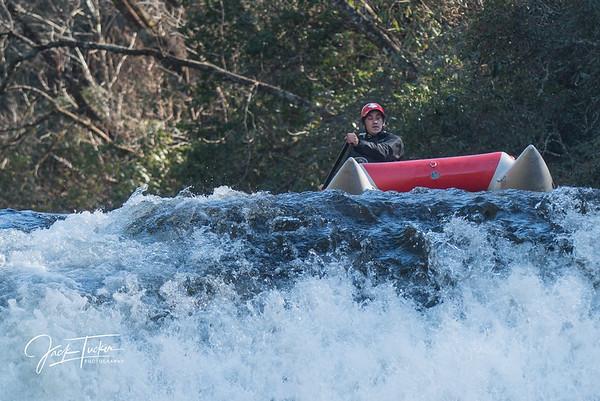 DuPont Forest kayaker