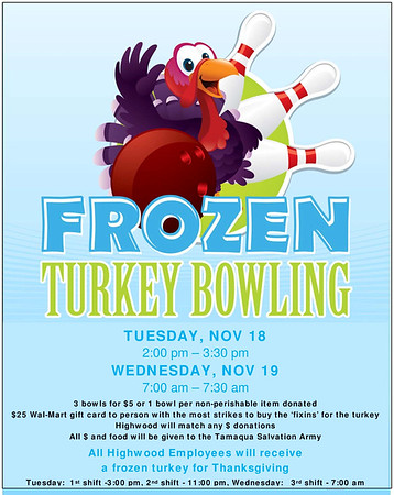 urkey Bowling, Highwood USA LLC, Hometown (11-18-2014)