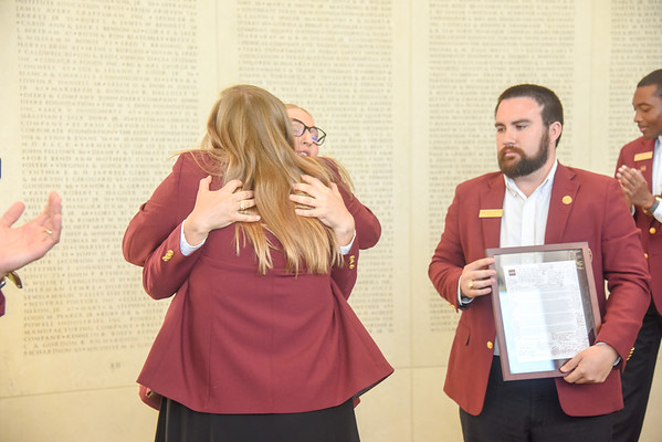 Maroon Coat Coating Ceremony