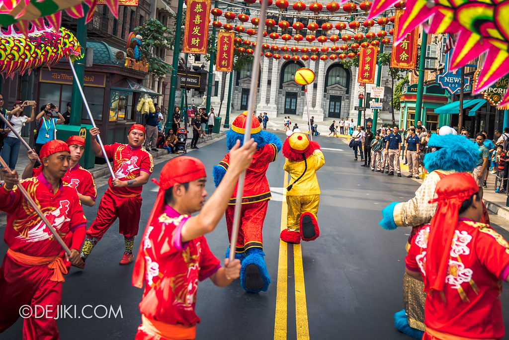 Universal Studios Singapore Park Update February 2018 Chinese New Year - Majestic Dragon Trail / Sesame Street at New York