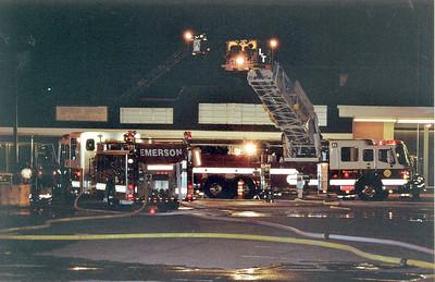 Emerson 2nd alarm Fire / Drill 4-20-06
