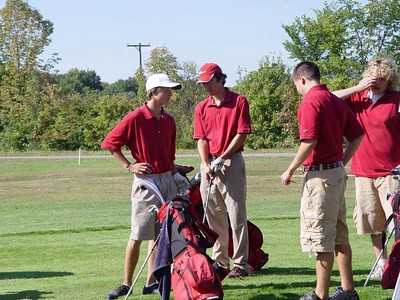 Boys Varsity Golf  - 2005-2006 - 9/20/2005 vs. Newaygo