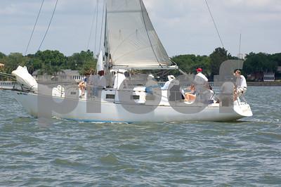 """Rolling Thunder""- Pete & Carol Moller- Sail #34X"