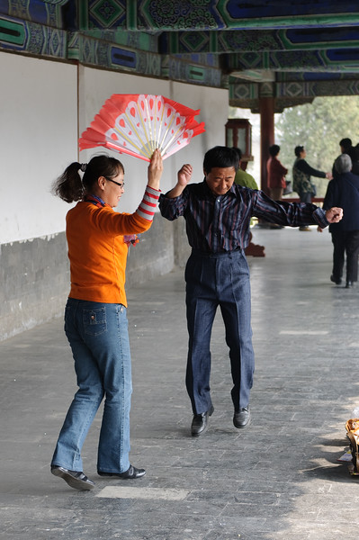 Exercise at the Temple