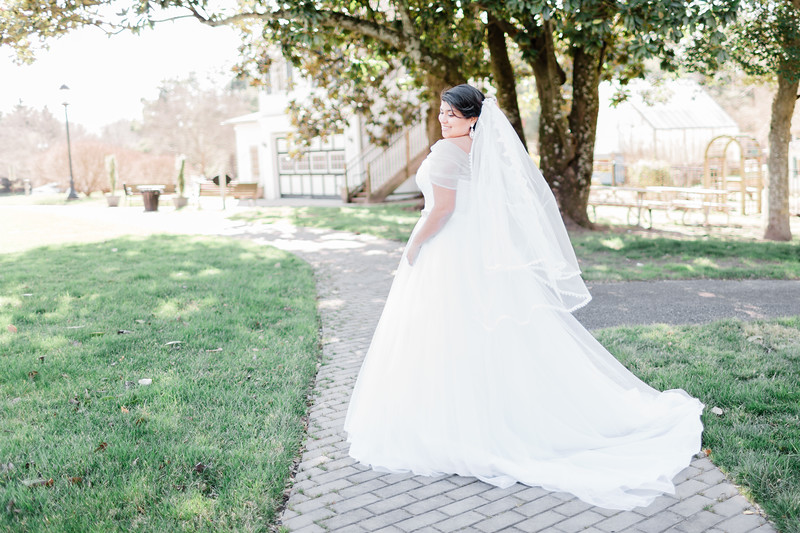 © 2015-2020 Sarah Duke Photography | The Armour House and Gardens at Meadowevent Park in Henrico Virginia Bridal Session | February 24, 2020 Bridal Portrait Session | Published Fine Art Wedding and Portrait Photographer in Virginia