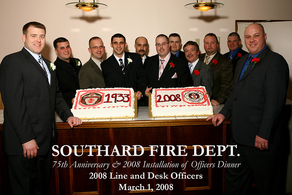 2008 Installation of Officers Dinner -75th Anniversary