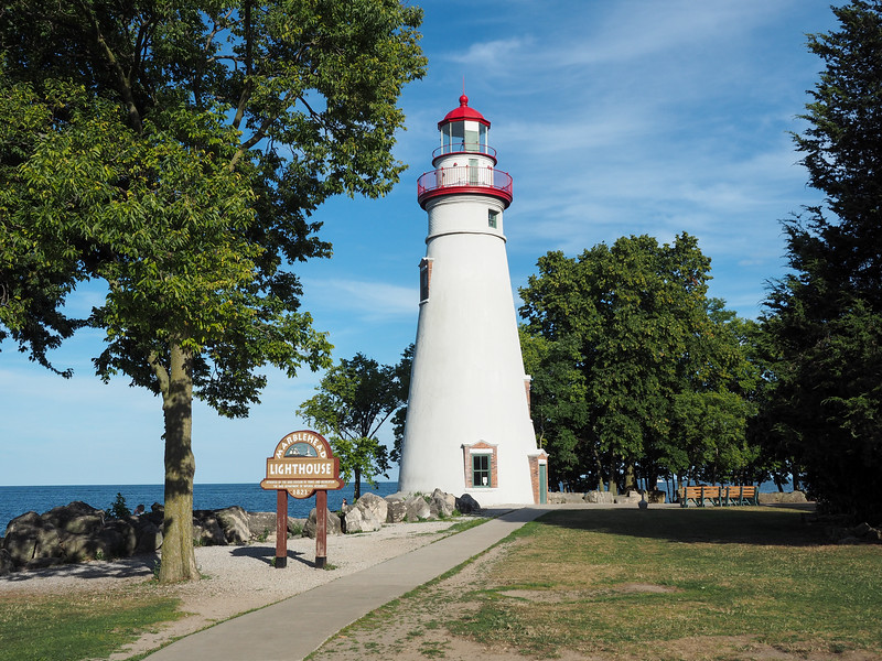 Marblehead Lighthouse in Ohio