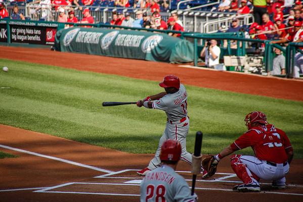 Washington Nationals vs Philadelphia Phillies 8/11/13
