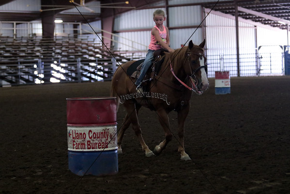 Sunday Barrel Racing 8 and Under