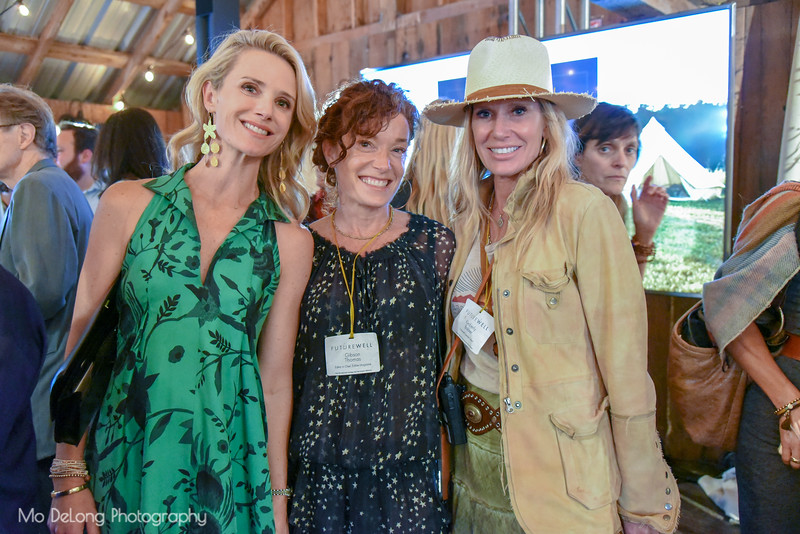 Jennifer Siebel Newsom, Gibson Thomas and Kimberly Bakker