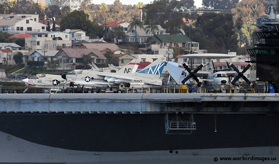USS Midway in San Diego Bay
