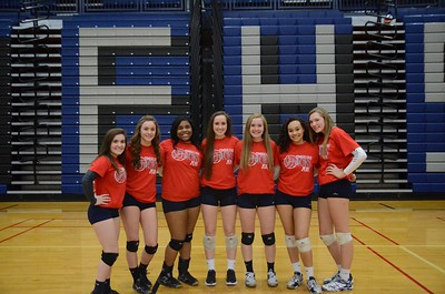 OE Girls Varsity Volleyball Senior Night Vs Plainfield East 2017