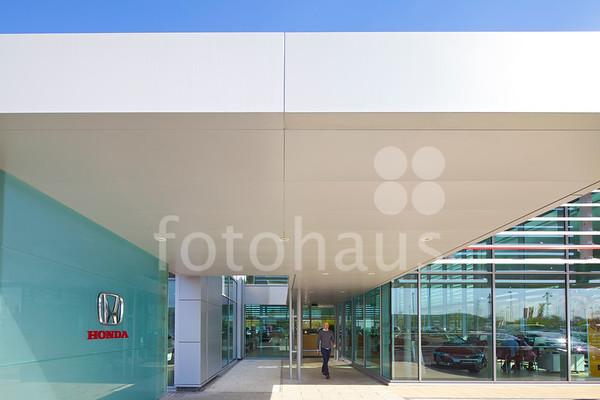Honda and Hyundai, car dealerships, Cheshire Oaks Retail Park