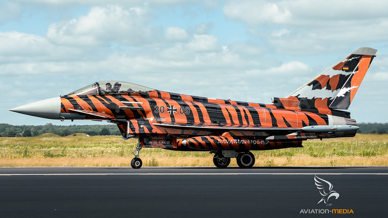 German Air Force TLG74 / Eurofighter Typhoon / 30+09 / Bronze Tiger