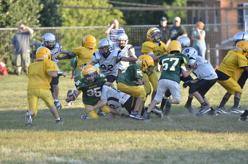 Wildcats vs Raiders Scrimmage 206.JPG