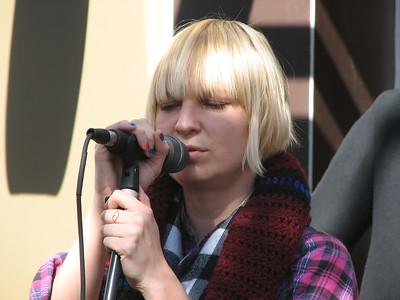 Sia @ Third Street Promenande (02/14/2008)