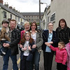 Residents from Patrick street who came out to watch the parade pass by