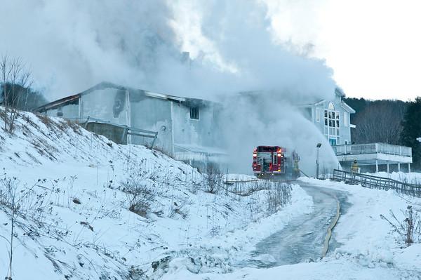 Mt. Ascutney Base Lodge Fire