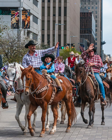Salt Grass Trail Ride -- Rodeo Parade