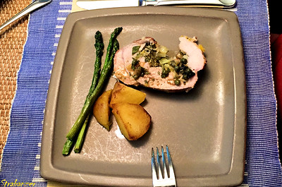 Roast Pork Loin Stuffed With Herbs and Capers