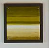 Green Acrylic, wood mount-Hibberd, 24x24