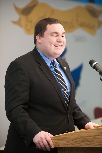 SGA President, Brendan McKee