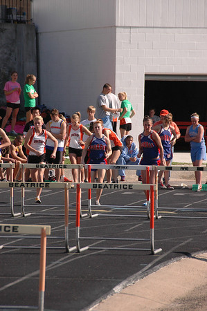 Girls Track-Running Events@ Beatrice