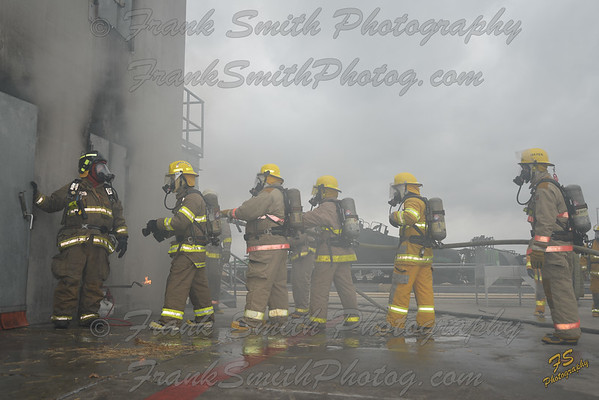 Fire School at Brayton Fire Field
