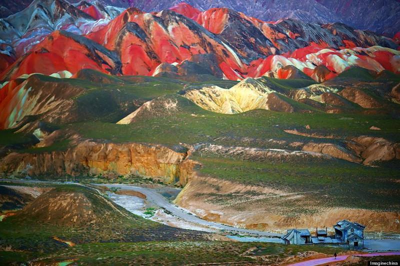 Rainbow Mountains In China's Danxia Landform Geological Park http://huffingtonpost.com/2013/07/31/rainbow-mountains-china-danxia-landform_n_3683840.html