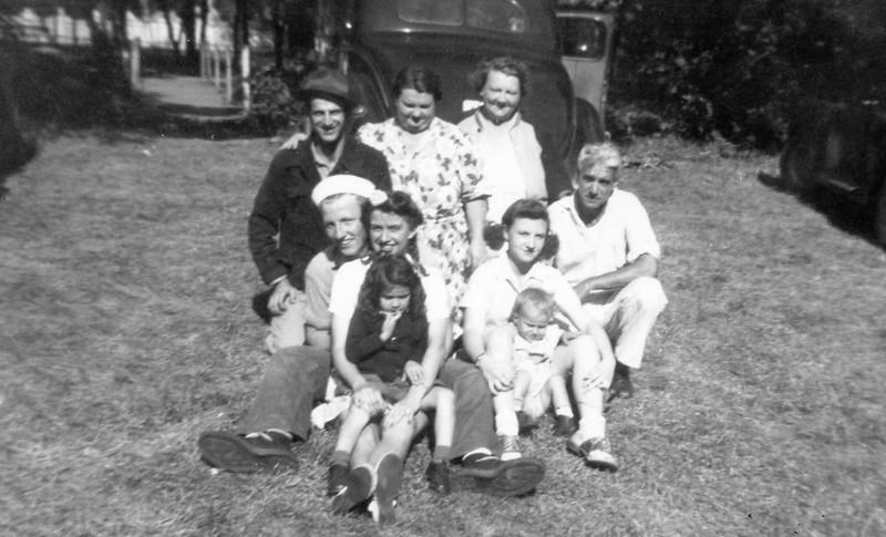 1945 Jack came home for visit
