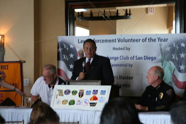 SDPD Volunteer of the Year 2010