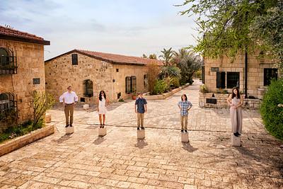 Eisenberg Family Jerusalem Portraits