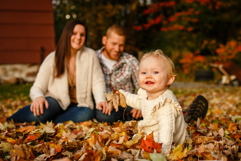 Amanda and Billy Family Session