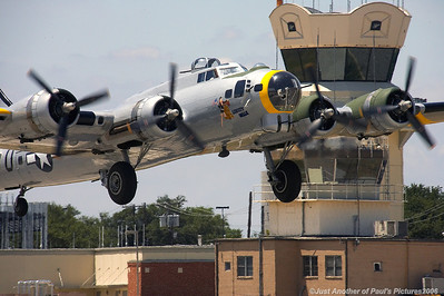 B-17 'Liberty Belle' and friends, at Addison