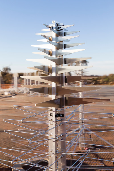 A SKALA antenna of the Aperture Array Verification System (AAVS) 1.5
