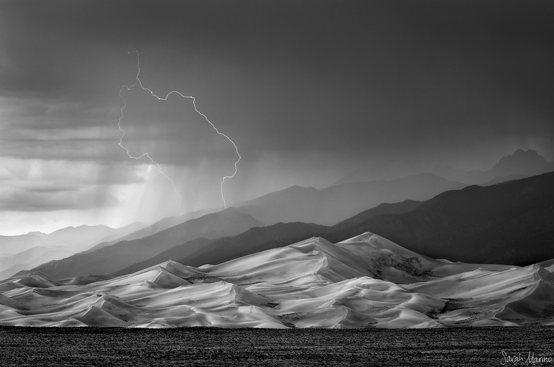 Storm over the Great Sand Dunes