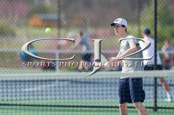 4-11-2016 Millbrook at Woodgrove Boys Tennis
