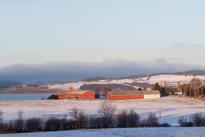 Huseby gård, Stange